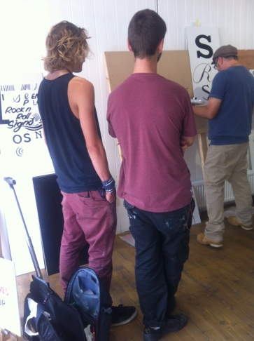 Learning to signwrite with NGS London