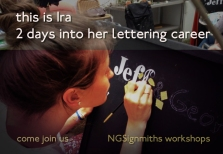 Ira 2 days in .. Signsmiths of London
