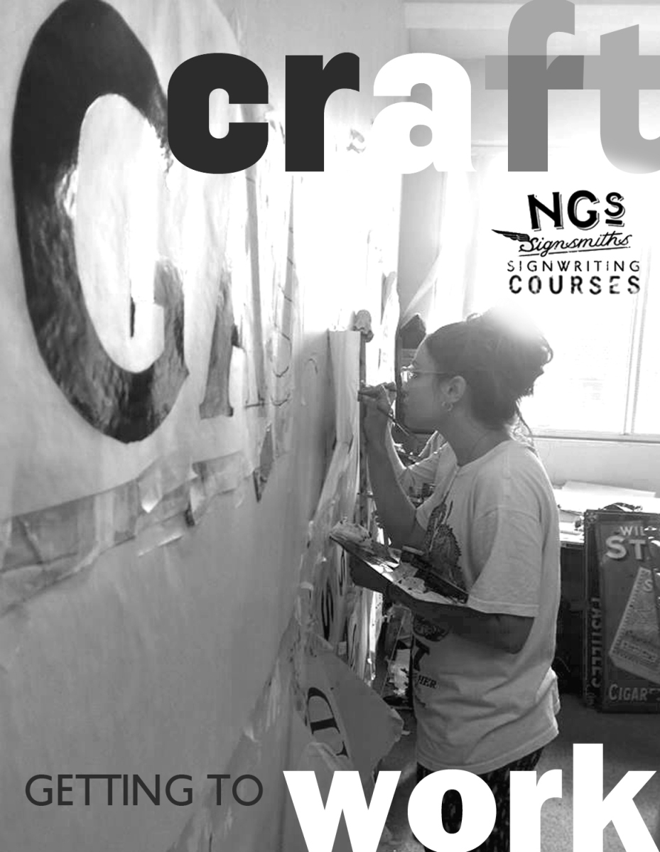 Signwriting apprenticeship program