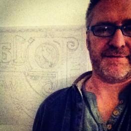 Selfie in studio