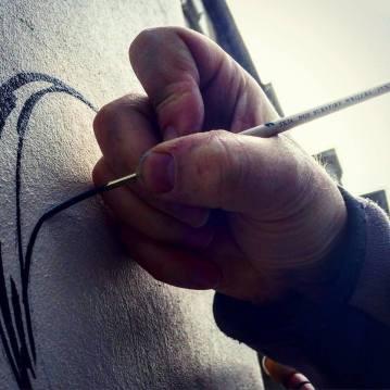 Surefire lettering brushes