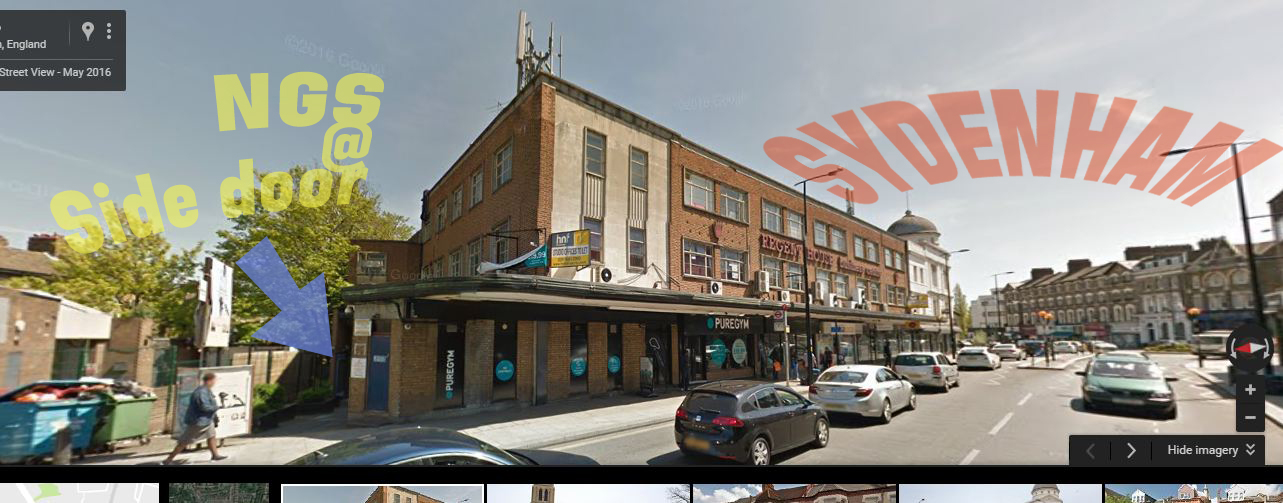 NGSSSL where we are - side of Pure Gym copia