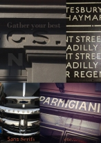 Gather your best Sans Serifs NGS Signsmiths London courses