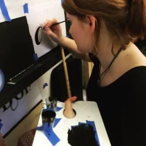 Chloe signwriting