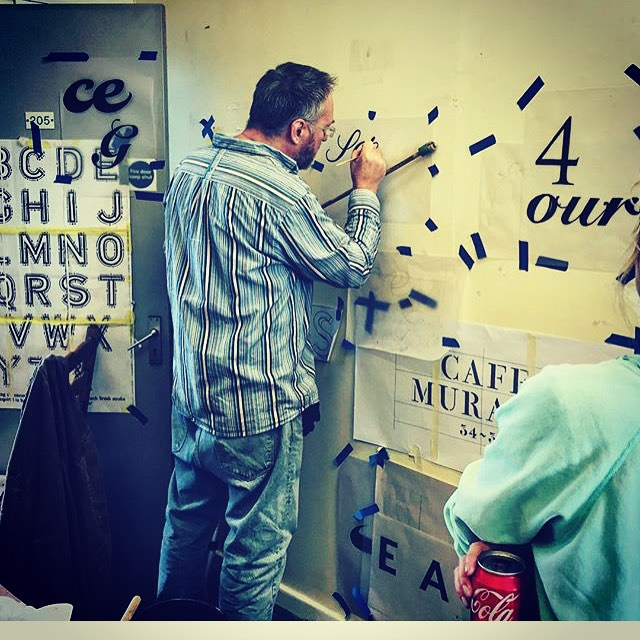 NGS Signsmiths Signwriting Courses London