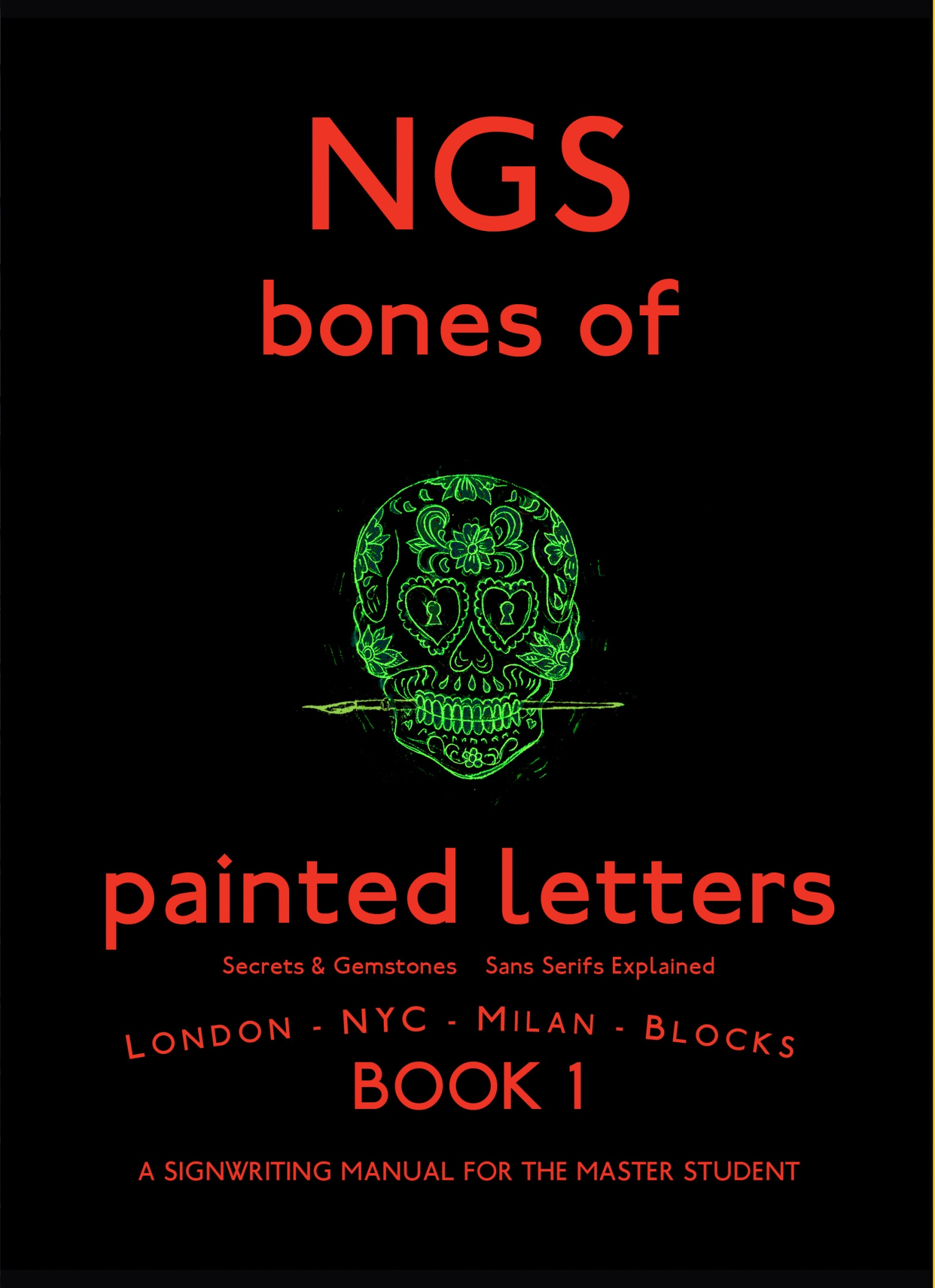 Forthcoming Book Bones Of Painted Letters NGS