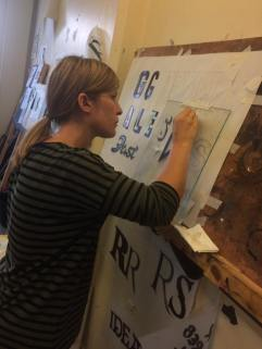 Signsmiths NGS London courses in signwriting UK