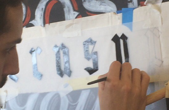 Signsmiths signwriting courses NGS London 4