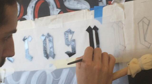 Signsmiths signwriting courses NGS London 5