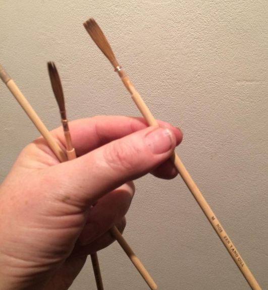 Zen Qill NGS Specialist writing brushes.