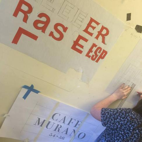 Signsmiths signwriting courses NGS London