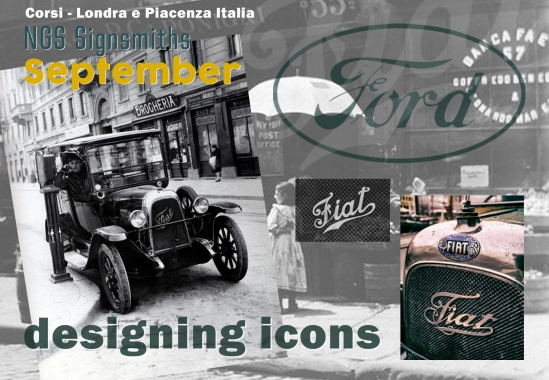 Designing Icons NGS London and Piacenza Italia