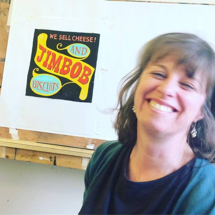 Signsmiths gilding and lettering course London UK 007