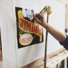 Signsmiths gilding and lettering course London UK 010