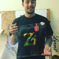 Signsmiths gilding and lettering course London UK 013